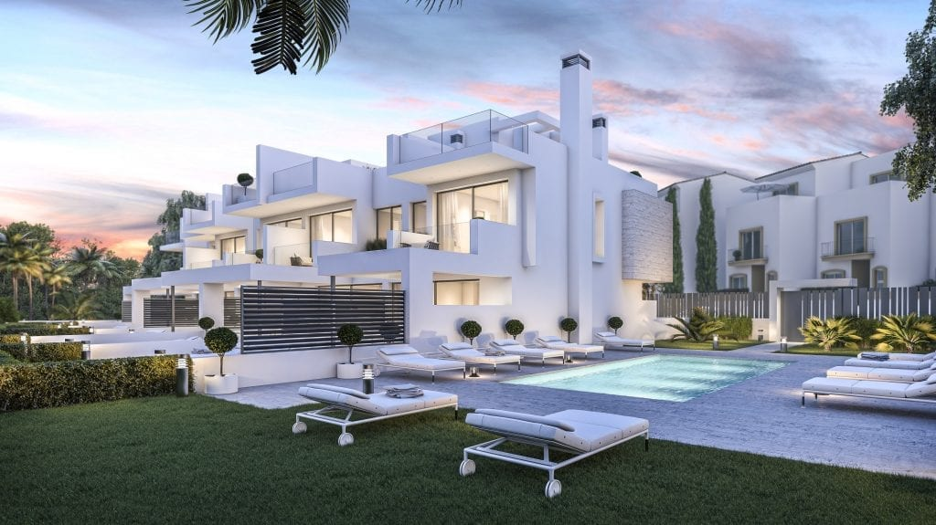 West Beach Estepona townhouses