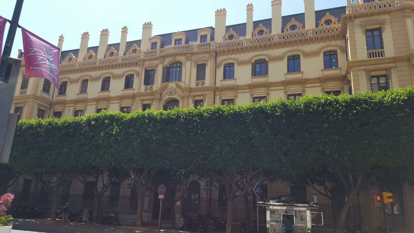 Historic building for sale Malaga