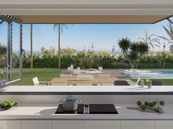 Imare beachfront luxury villa 07_Cocina-min