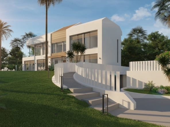 Imare beachfront luxury villa 08_Acceso-min