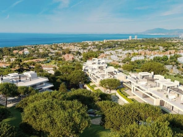 Venere Residences Cabopino bird-view-draft