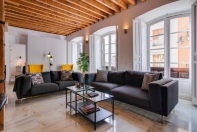 luxury city apartment malaga