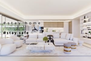 buying and selling in times of corona stay home