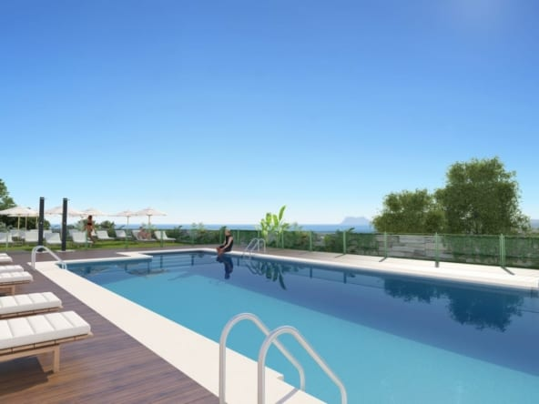 Majestic HEIGHTS Manilva_exterior_piscina